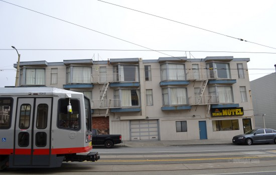 Beach Motel San Francisco - Beach Motel - N Judah Train