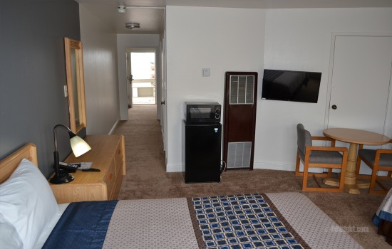 All rooms feature fridge and flat screen TV